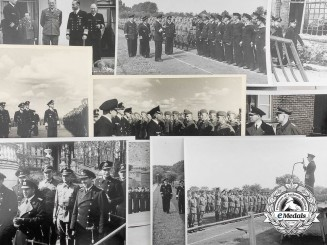 11 Press Photos of Admiral Erich Förste & Grand Admiral Karl Dönitz