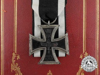 An 1813 Iron Cross Second Class from the Estate of Karl von Hanstein