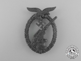 An Interwar Luftwaffe Flak/Anti-Aircraft Badge