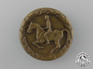 Germany, Third Reich. A 1932-1945 Youths Equestrian Badge, by Steinhauer & Lück