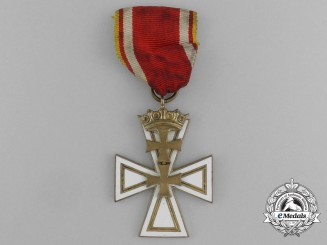 A Free City of Danzig Cross Second Class by Hülse of Berlin