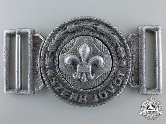 A 1930's Hungarian Scout Leader's Belt Buckle