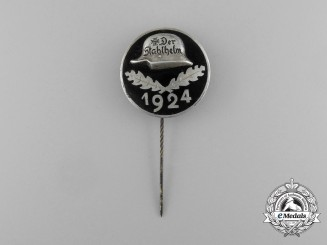 A 1924 Der Stahlhelm Veteran's Organization Membership Badge