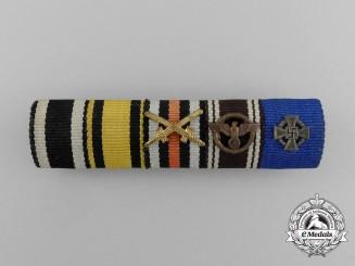 A First War & NSDAP Service Ribbon Bar