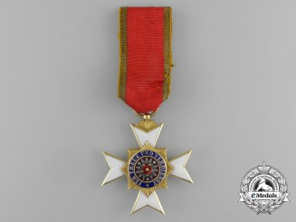 A House Order of Schaumburg-Lippe Honour Cross in Gold; 3rd Class