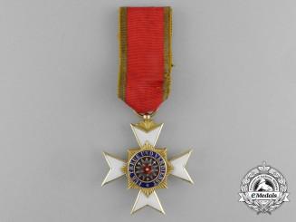 A House Order of Schaumburg-Lippe Honour Cross in Gold; 3rd Class