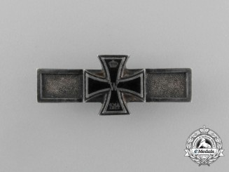 A Scarce Wiederholungsspange to the Iron Cross 1914 of the Iron Cross 1870