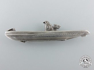 A First War Imperial German Kriegsmarine U-Boot Pin