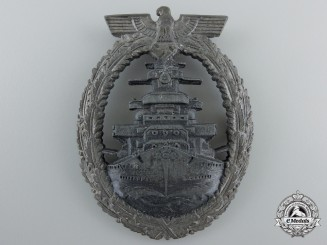 A High Seas Fleet Badge by Richard Simm & Söhne, Gablonz