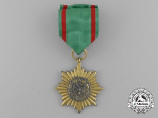 A Gold Grade Eastern People Bravery Decoration 2nd Class by Rudolf Wächtler & Lange