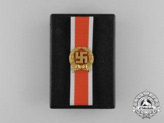 An Absolutely Mint Wehrmacht Heer (Army) Honour Roll Clasp in its Original Case of Issue