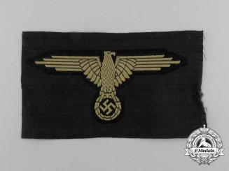 A Mint and Unissued Waffen-SS Tropical Sleeve Eagle