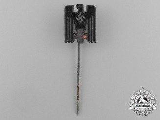 A Late War Issue DRK (German Red Cross) Membership Stick Pin by GBM