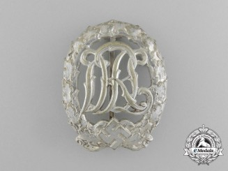A Silver Grade DRL Sports Badge by Wernstein of Jena