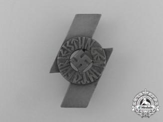 A DJ Achievement Badge by Wilhelm Deumer of Lüdenscheid