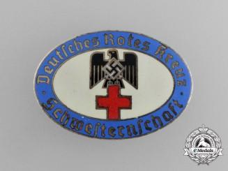 A DRK German Red Cross Nurse's Association Membership Badge by Christian Theodor Dicke
