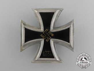 A Naval Iron Cross 1939 First Class by Wächtler & Lange