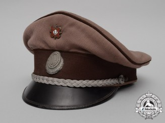A Second War Croatian Army Medical Corps Officer's Visor Cap