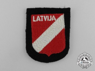 A Mint Waffen-SS Latvian Foreign Volunteer Sleeve Shield