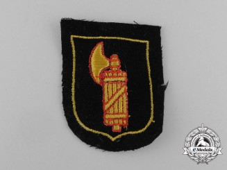 A Mint Waffen-SS Italian Foreign Volunteer Sleeve Shield