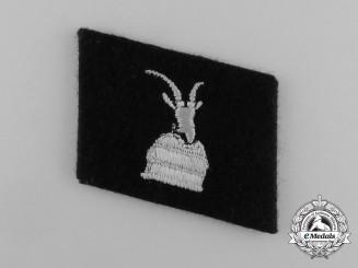 A Mint Waffen-SS Skanderbeg Albanische 1st Waffen Gebirgsdivision Collar Tab