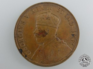 Australia, Dominion. A 1929 George V Centenary of Western Australia Medal