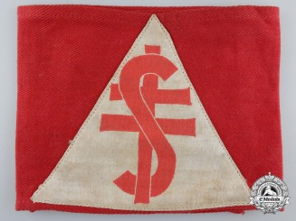 A Second War Slovakian Division Armband