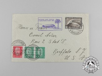 "An Envelope Sent to Buffalo,NY via Airship ""Graf Zeppelin"""