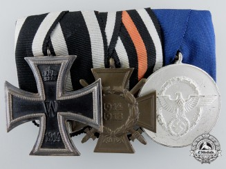 Germany, Police Long Service Medal Group