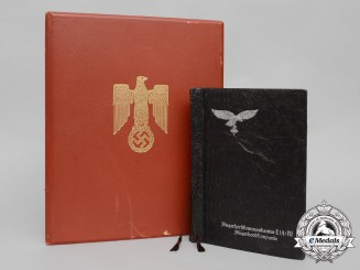 A Formal Knight's Cross Document & Photo Album to Ace with 38 Victories