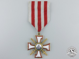 Latvia. An Order of the Bear Slayer, Knight's Cross,