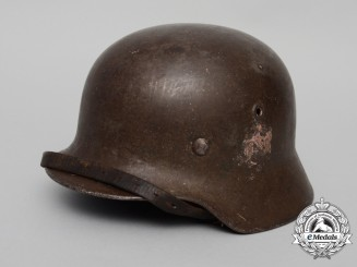 A Single Decal M40 Wehrmacht Heer (Army) Stahlhelm by Eisenwerke Thale