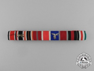 Germany, Luftwaffe. An Extensive Ribbon Bar With Nine Awards