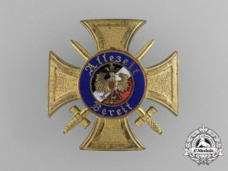 A First War Honor Badge of the Former War Volunteers of Germany