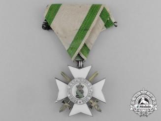 A Saxon Civil Merit Order; 2nd Class Knight Cross with Swords