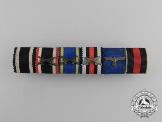 A First War Army Long Service German Medal Ribbon Bar