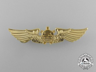 A Republic of Korea Air Force Air Mechanic's Badge