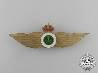 A Royal Saudi Air Force Pilot Badge