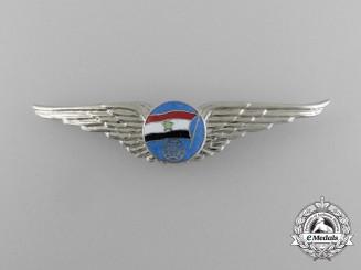 A North Yemeni Air Force Navigator Badge (1962-1990)