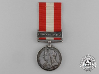 A Canada General Service Medal to the 1st Ottawa Rifle Company