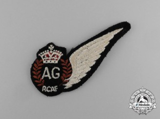 A Second War Royal Canadian Air Force (RCAF) Air Gunner (AG) Wing