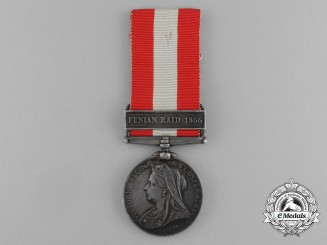Canada. A General Service Medal to the Cornwall Infantry Company