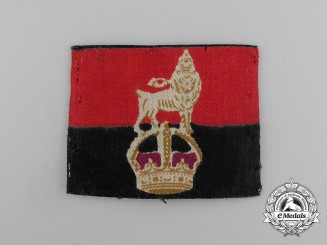 A Second War 1st Canadian Tank Brigade Provost Corps Sleeve Patch