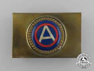 An American First War Third Army Matchbox Cover