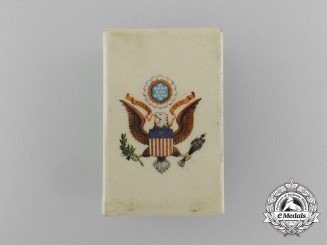 An American First War American Expeditionary Force Commemorative Matchbox Cover