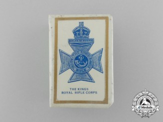 A First War King's Royal Rifle Corps Matchbox Cover