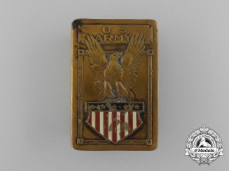 A First War American Expeditionary Force Army Matchbox Cover