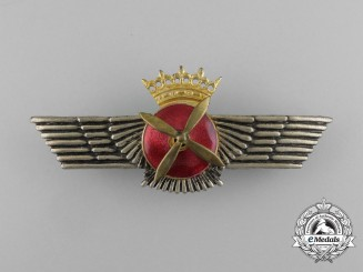A Spanish Air Force (Ejército del Aire) Pilot Badge, Franco Era (1936-1975)