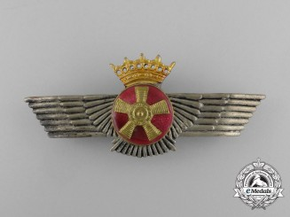 A Spanish Air Force (Ejército del Aire) Air Mechanic's Badge, Franco Era (1936-1975)