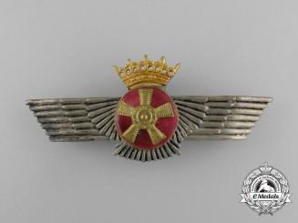 A Spanish Air Force (Ejército del Aire) Air Mechanic's Badge, Franco Era (1936-1975)